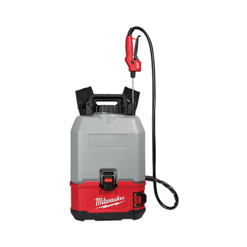 Milwaukee® M18™ SWITCH TANK™ 2820-20PS Backpack Sprayer, 4 gal Tank, 20 to 120 psi Pressure