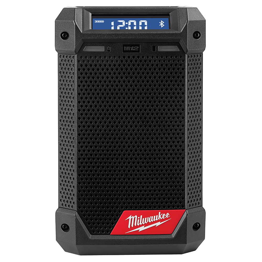 Milwaukee® M18™ 2890-20 Cordless Jobsite Radio, 18 VDC, Lithium-Ion Battery