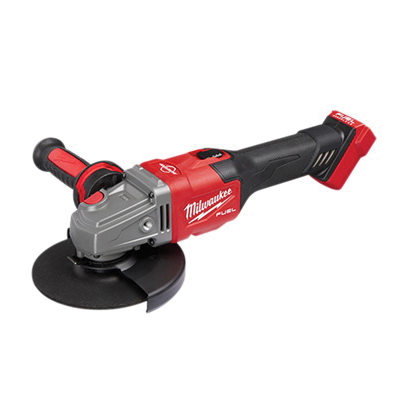 Milwaukee® M18 FUEL™ 2980-22 Braking Small Cordless Angle Grinder Kit With Paddle Switch Kit, 6 in Dia Wheel, 5/8 in Arbor/Shank, 18 V, Lithium-Ion Battery, Paddle Switch