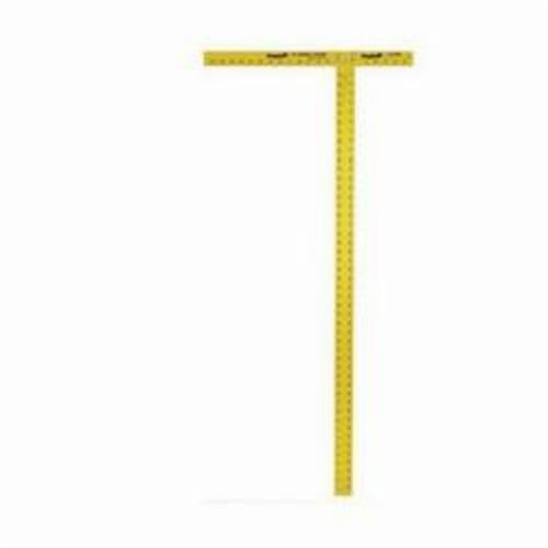 Empire® 4006 1-Stage Heavy Duty Straight Edge, SAE Measuring System, Graduations 8th and 16th Graduations, Aluminum