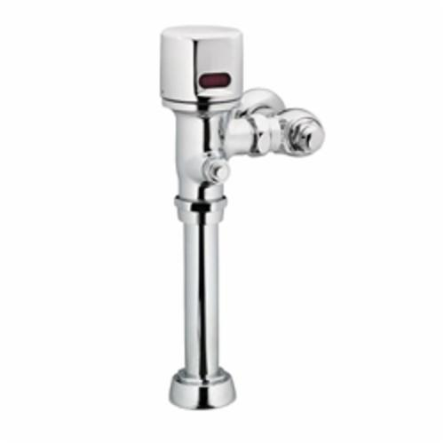 Moen® 8310 M-POWER™ Electronic Flush Valve, Battery, 1.6 gpf Flush Rate, 1 in Inlet, 20 to 125 psi Pressure, Polished Chrome, Import