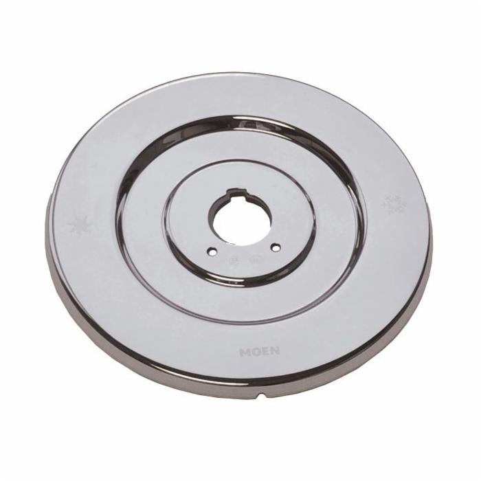 Moen® 16090 Escutcheon, For Use With Chateau® 2739 1-Handle Tub/Shower Valve Trim, Polished Chrome, Domestic