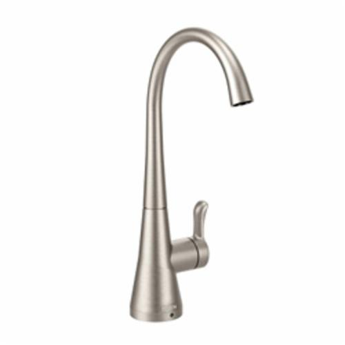 Moen® S5520SRS Sip™ Traditional™ Traditional Beverage Faucet, 1.5 gpm Flow Rate, Spot Resist® Stainless Steel, 1 Handles, Domestic