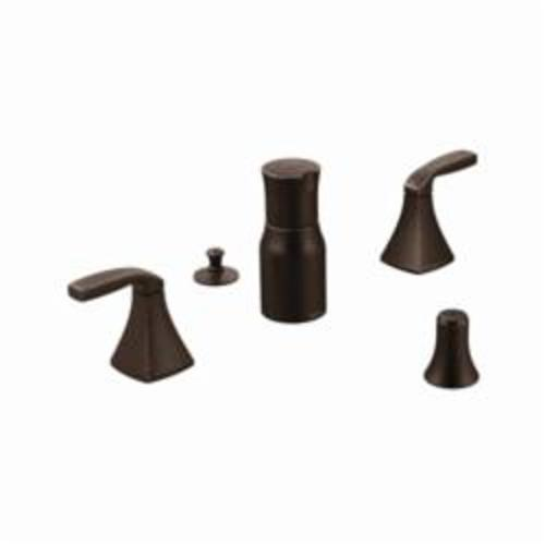 Moen® T5269ORB Widespread Bidet Faucet, Voss™, 2.2 gpm, 8 to 16 in Center, Oil Rubbed Bronze, 2 Handles, Domestic