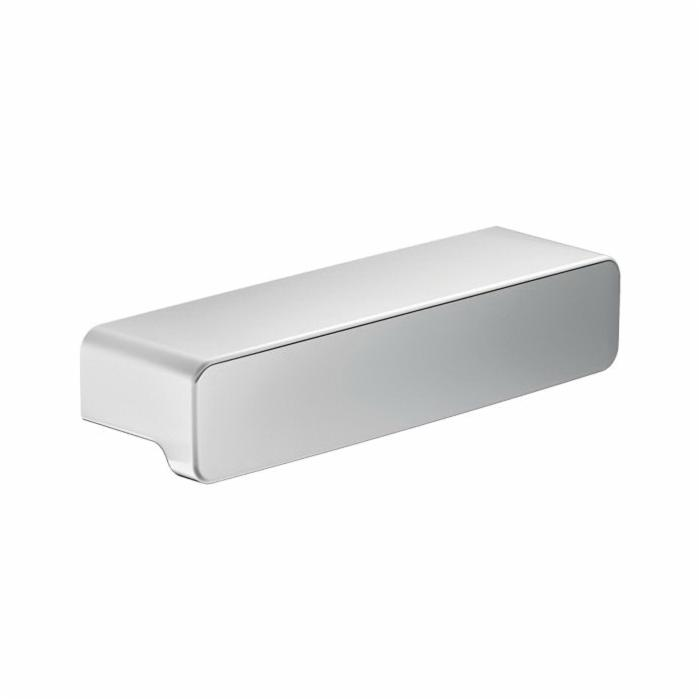 Moen® YB8807CH Drawer Pull, Zinc, Polished Chrome, Import