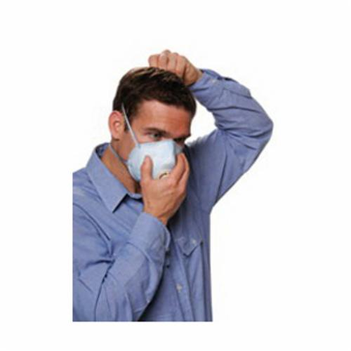 Moldex® 2207N95 2200 Disposable Low Profile Particulate Respirator With Molded Nose Bridge, Resists: Non-Oil Based Particulates
