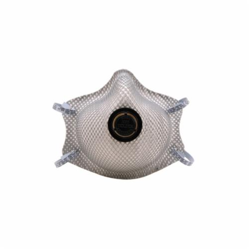 Moldex® 2360P100 Disposable Particulate Respirator With Ventex® Valve, M to L, Resists: Heat, Flame and Non-Oil Based Particulates