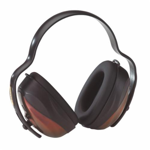 Moldex® 6130 MX-6 Ear Muff, Premium Lightweight, 30 dB, Stainless Steel Headband, Black, ANSI S3.19-1974