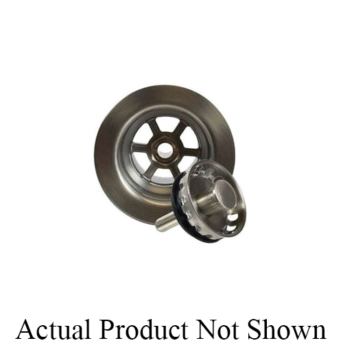 Mountain Plumbing Products MT700/ORB Deluxe Stemball Bar Sink Strainer, 2-1/2 in Nominal, Polypropylene, Oil Rubbed Bronze