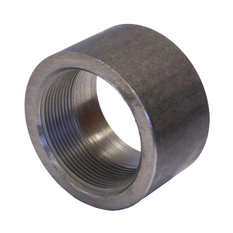 Anvil® 0361168404 FIG 2119 Half Coupling, 1-1/4 in Nominal, FNPT End Style, 3000 lb, Steel, Black Oxide, Domestic