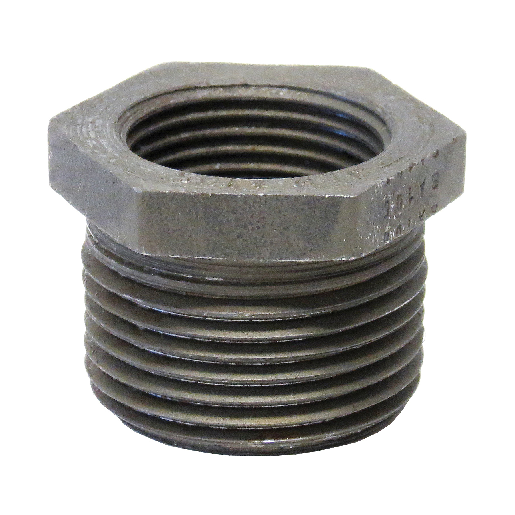 Anvil® 0361331408 FIG 2139 Hex Head Pipe Bushing, 1 x 3/4 in Nominal, FNPT x MNPT End Style, 3000 lb, Steel, Black Oxide, Domestic