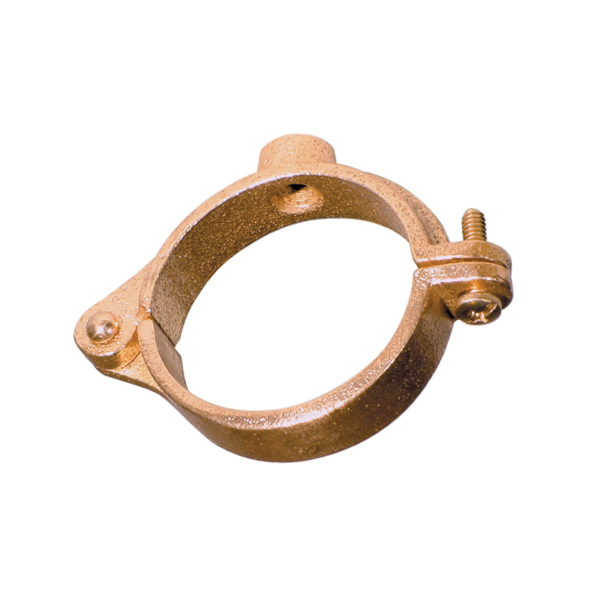 SPF/Anvil™ 0560018913 FIG CT-138R Extension Split Tube Clamp, 3/4 in Pipe/Tube, 180 lb Load, Malleable Iron, Copper Plated, Import