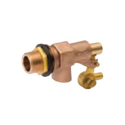 ProLine™ 109-814 Thread Outlet Float Valve, 3/4 in, Male Inlet x Plain Outlet, 125 psi