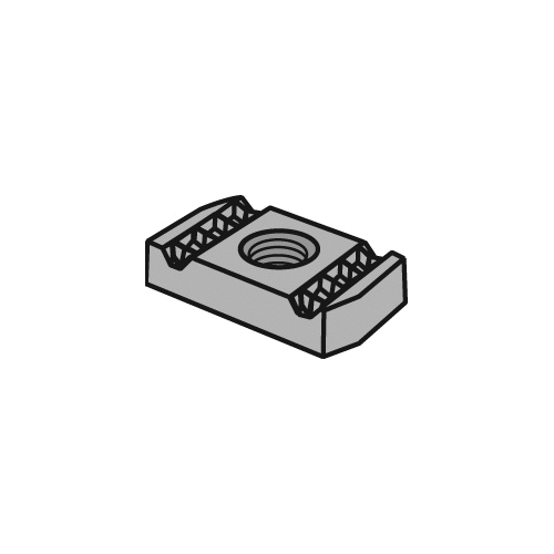 Anvil-Strut™ 2400206088 FIG AS NS Clamping Nut, 1/2-13 Thread, For Use With All Anvil-Strut™ Channel