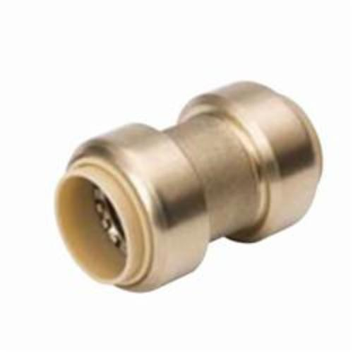 ProLine™ 630-004 Standard Coupling, 3/4 in Nominal, Push-Fit End Style, Brass