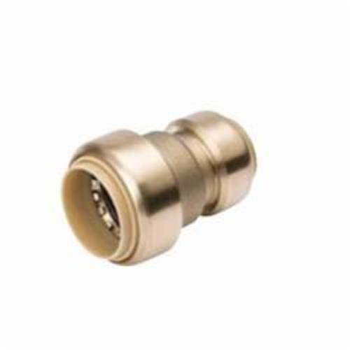 ProLine™ 630-054 Reducing Coupling, 1 x 3/4 in Nominal, Push-Fit End Style, Brass