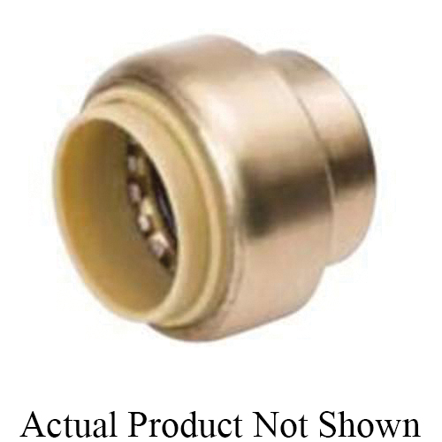 ProLine™ 633-003 Cap, 1/2 in Nominal, Push-Fit End Style, Brass