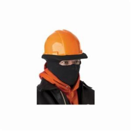 N-Ferno® 16810 Half Style Stretch Cap, Polyester, Black