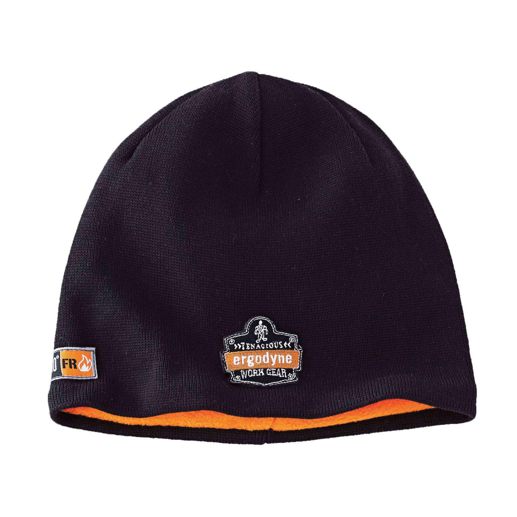 N-Ferno® 16818 Knit Cap, Universal, Black, Dralon® Acrylic
