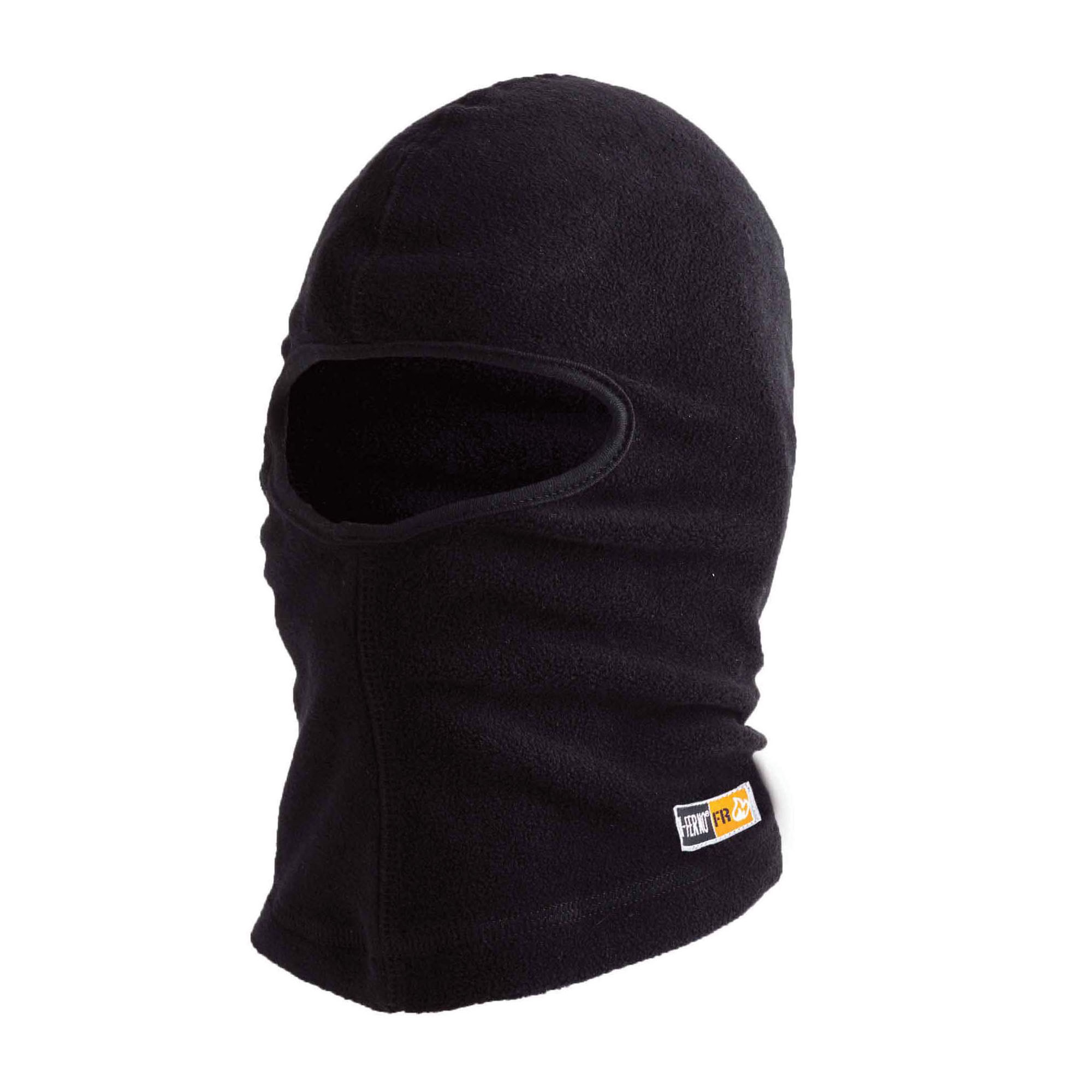 N-Ferno® 16822 Balaclava With Spandex Top, Black, Polyester