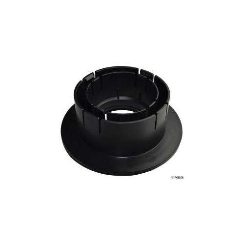 NDS® 1243 Catch Basin Universal Locking Outlet, Styrene, Black, Domestic