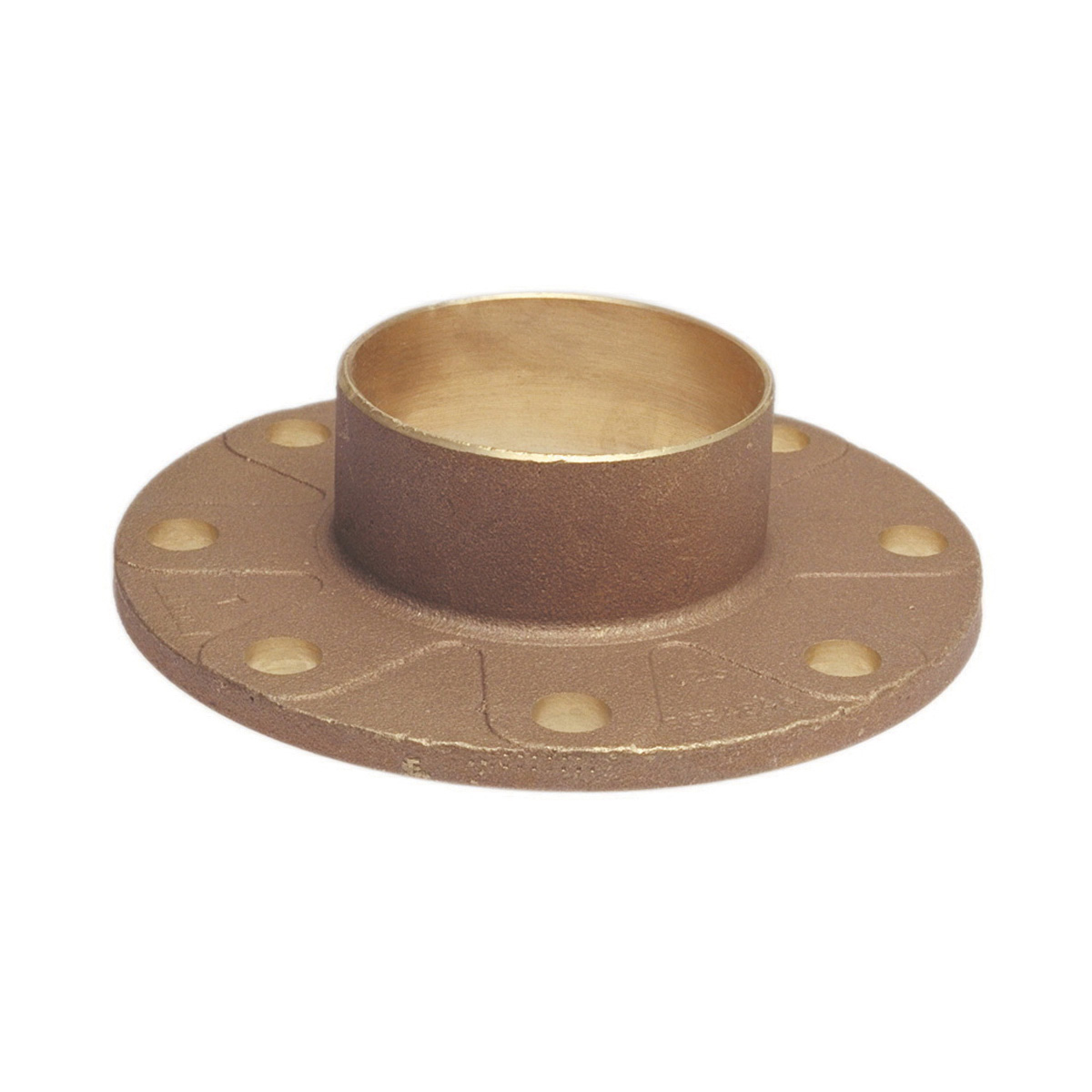 NIBCO® B305606 741 Companion Flange, 3 in Nominal, Bronze, Flanged Connection, 125 lb, Import