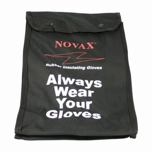 Novax® 147-SK-2/9 Insulating Unisex Electrical Safety Gloves Kit, SZ 9, Cowhide Leather/Natural Rubber, Natural/Orange, 14 in L, ASTM Class: Class 2, 17000 VAC/25500 VDC Max Use Voltage