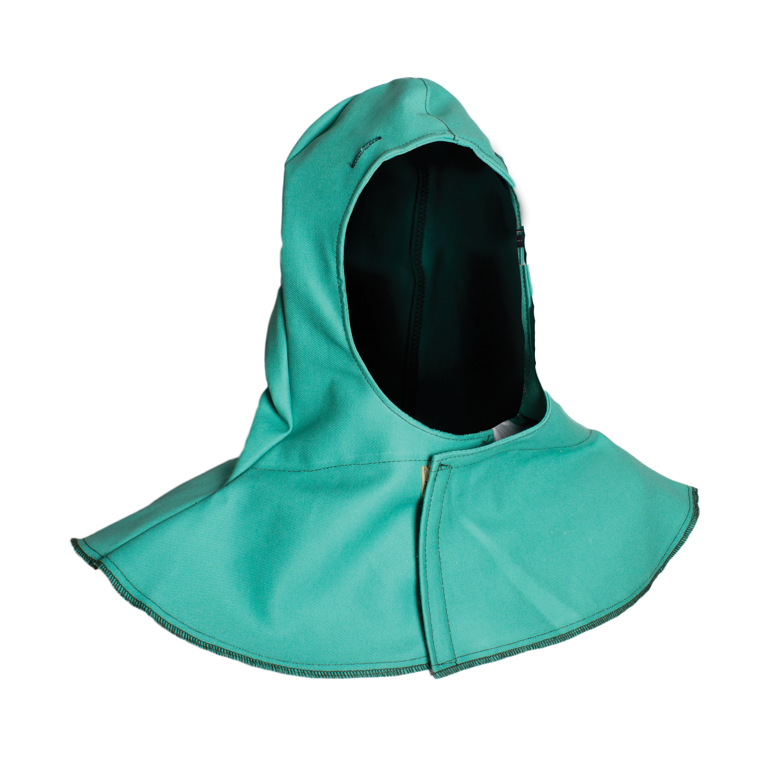 CARBON ARMOUR™ H61MH Flame-Resistant Knit Hood, Universal, White, Nomex®/Modacrylic Blend, 6 oz Fabric