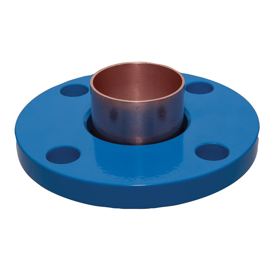 NIBCO® 9405400 672 2-Piece Companion Flange, 1-1/4 in, Wrot Copper, 150 lb, Domestic