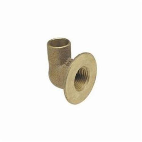 NIBCO® BF8105L 708-LF Flanged Sink Elbow, 1/2 in, C x FNPT, Cast Bronze, Import