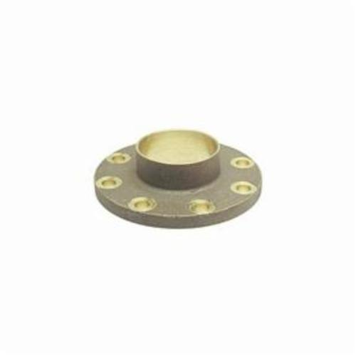 NIBCO® B495506 771 Companion Flange, 2-1/2 in Nominal, Bronze, Flanged Connection, 150 lb, Import