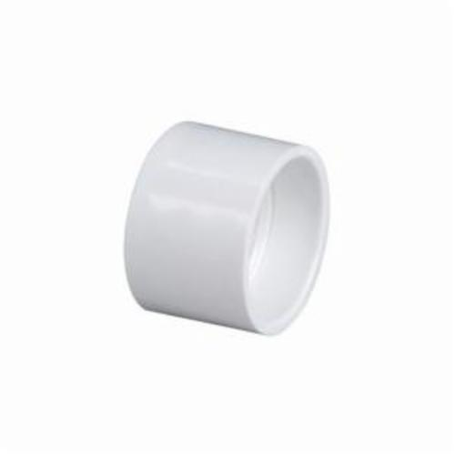 NIBCO® K009750 4801 DWV Coupling, 3 in Nominal, Hub End Style, PVC, Domestic