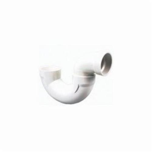 NIBCO® K565400 4885 Solvent DWV P-Trap, 2 in, Hub, SCH 40/STD, PVC, Domestic