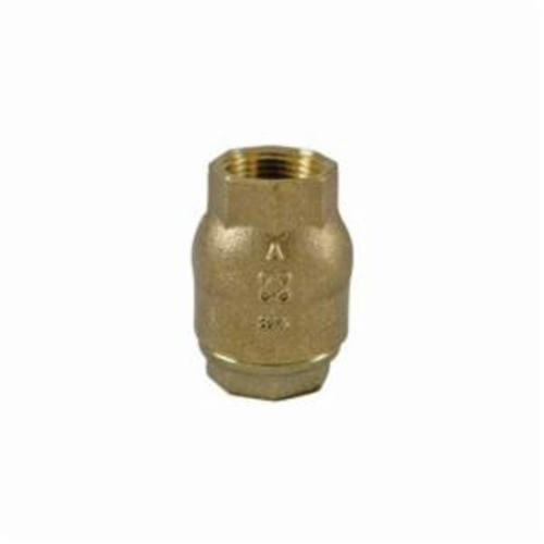 NIBCO® Ring Check® NL931X8 T-480-Y-LF Lift In-Line Check Valve, 3/4 in Nominal, FNPT End Style, 125 lb, Bronze Body, Domestic