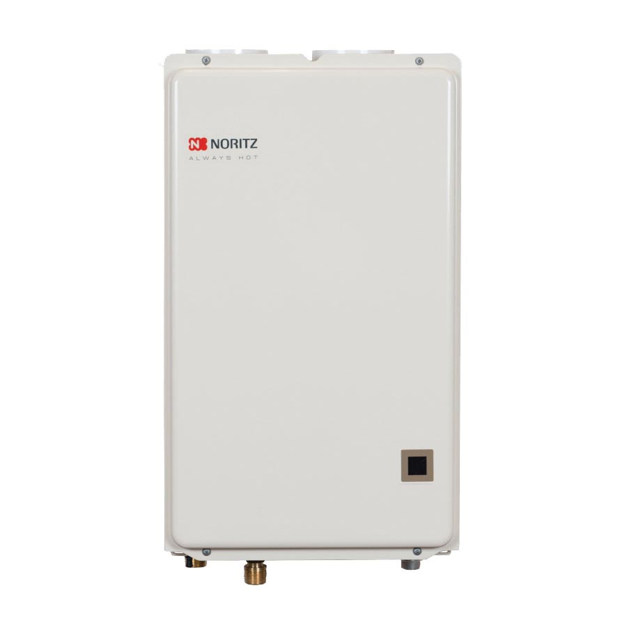 Noritz® NRC661-DV-NG High Efficiency Tankless Water Heater, Natural Gas Fuel, Indoor/Outdoor: Indoor, Condensing, 0.5 to 6.6 gpm Flow Rate, Direct Vent, 3 in Vent, 0.89, Residential