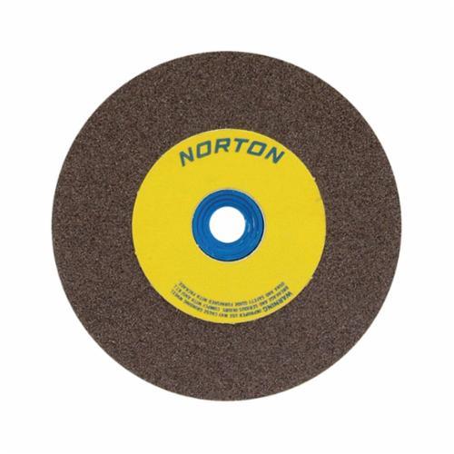 Norton® Gemini® 07660775942 DC714HMa All Purpose Depressed Center Wheel With Quick-Change Hub, 7 in Dia x 1/4 in THK, 24 Grit, Silicon Carbide Abrasive