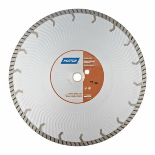 Norton® 70184683784 Aero-Jet Cut-Off Wheel, 12 in Dia x 0.11 in THK, 20 mm Center Hole, Diamond Abrasive