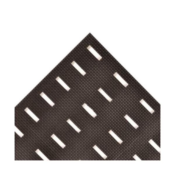 Diamond-Plate SpongeCote™ 415.916QUOTEBYL Heavy Duty Solid Anti-Fatigue Mat, 13 ft L x 4 ft W x 9/16 in THK, PVC, Diamond Plate Surface Pattern, Nitrile Infused Sponge Base