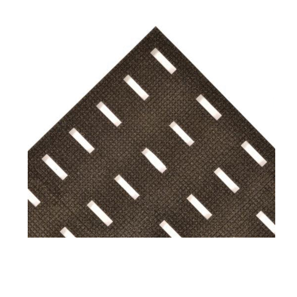 NoTrax® 420-3X30 Cushion-Dek™ 420 Anti-Fatigue Floor Mat, 30 ft L x 3 ft W x 7/16 in THK, PVC, Raised Pyramid Surface Pattern, Resists: Abrasion