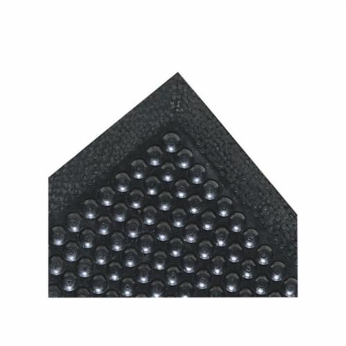 NoTrax® 422-3X10 Cush-Dek™ 422 Anti-Fatigue Mat With Grit-Step®, 10 ft L x 3 ft W x 7/16 in THK, PVC, Raised Pyramid Surface Pattern, Resists: Industrial Oils