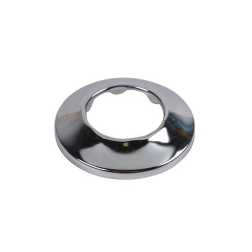 Dearborn® Brass 1104 Low Pattern Flange, 1-1/2 in OD, Steel, Polished Chrome