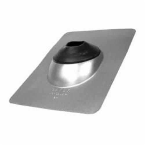 Oatey® No-Calk® 11853 Standard Base Roof Flashing, Steel, 2 in Pipe, 9 in W x 12-1/2 in L Base