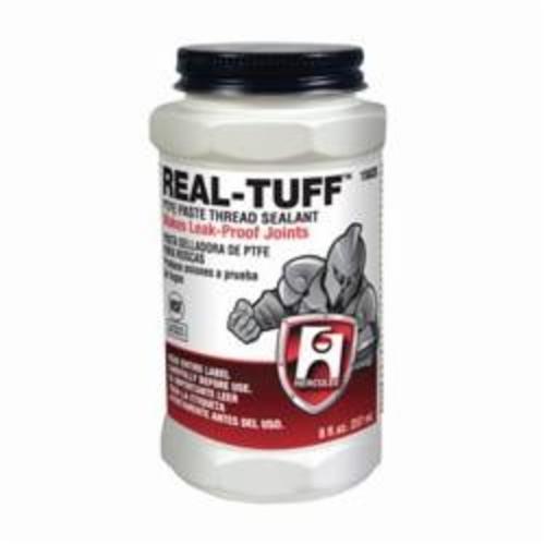 Hercules® Real Tuff™ 15620 Heavy Duty Multi-Purpose Thread Sealant, 0.5 pt Can, Solid, White, 1.56
