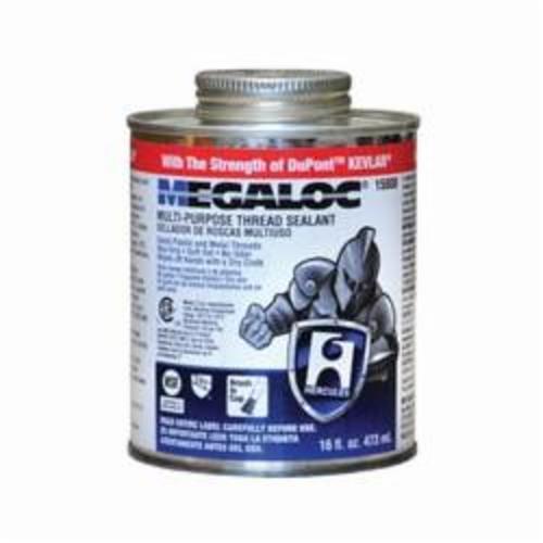 Hercules® Megaloc® 15808 High Performance Thread Sealant, 16 oz Can, Liquid/Paste Form, Blue
