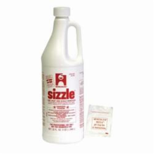 Hercules® Sizzle® 20305 Drain and Waste System Cleaner, 1 qt Bottle, Liquid, Yellow Light, Pungent