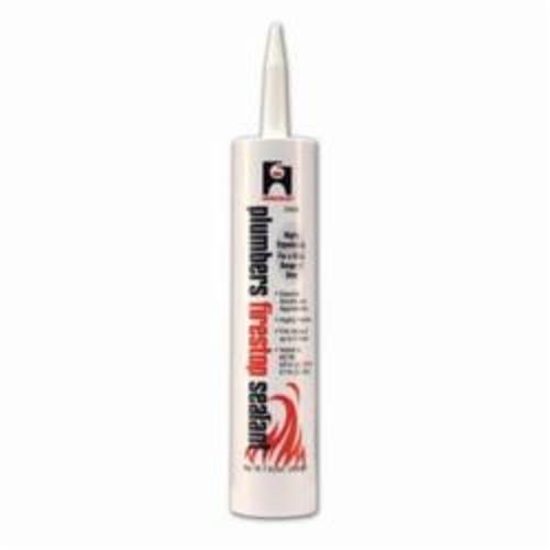 Hercules® 25696 Firestop Caulk, Cartridge Container, Composition: Acrylic Polymer, Calcium Carbonate, Sulfuric acid, compound with graphite, Alumina Trihydrate, Up to 3 hr Fire Rating, Off-White