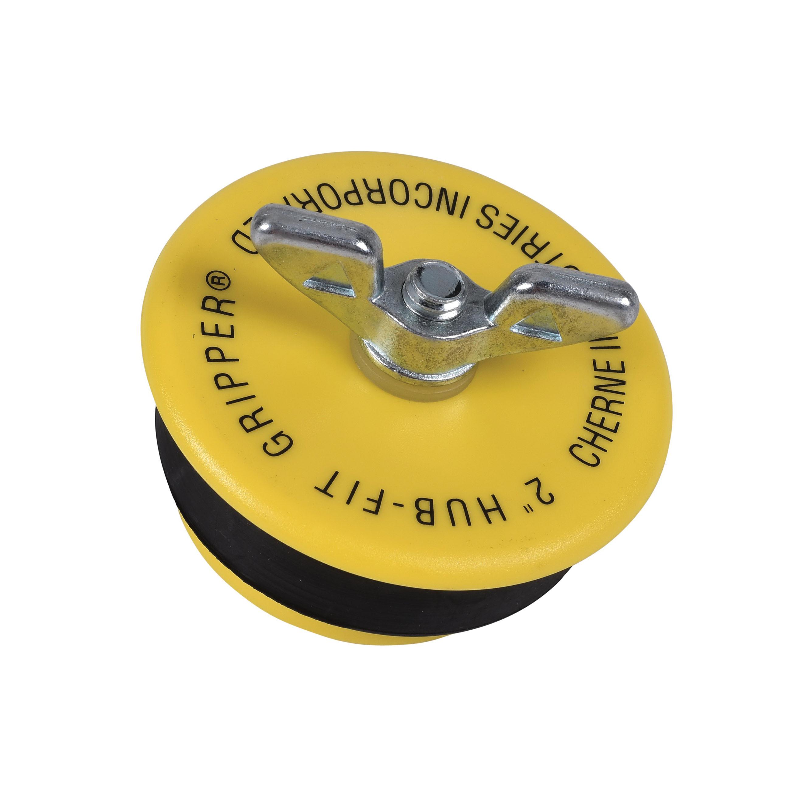 Cherne® Hub-Fit Gripper® 270528 Mechanical Pipe Plug, 2 in, ABS