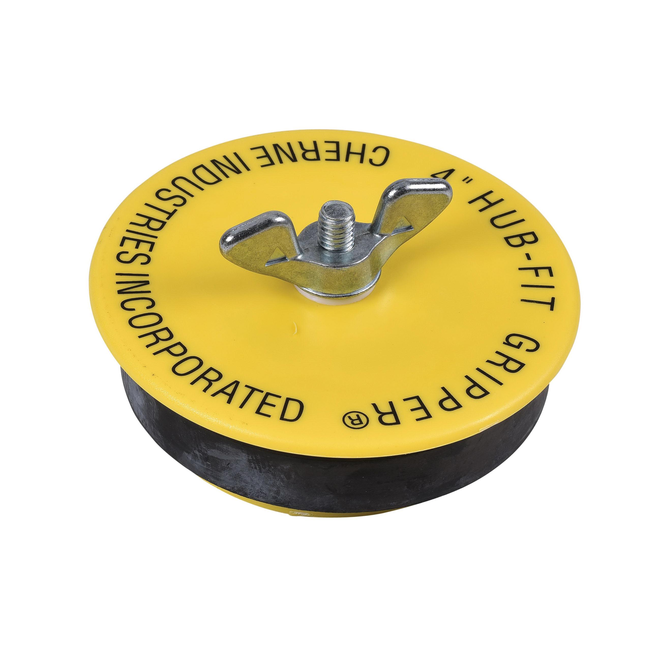 Cherne® Hub-Fit Gripper® 270548 Mechanical Pipe Plug, 12 in, ABS