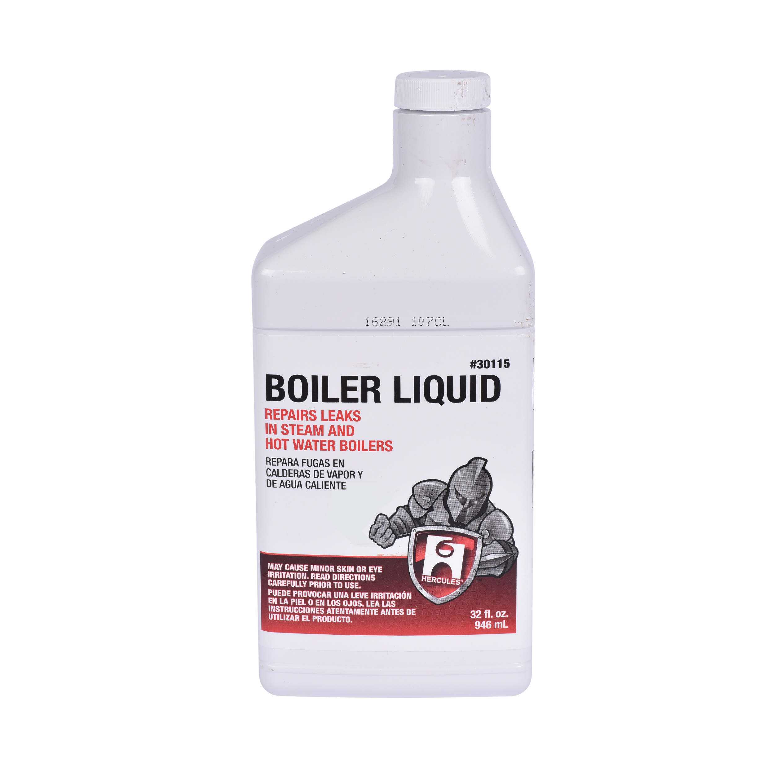 Hercules® 30115 Stop-leak Boiler Liquid, 32 oz Bottle, Liquid Form, Reddish Brown, Pleasant Odor/Scent