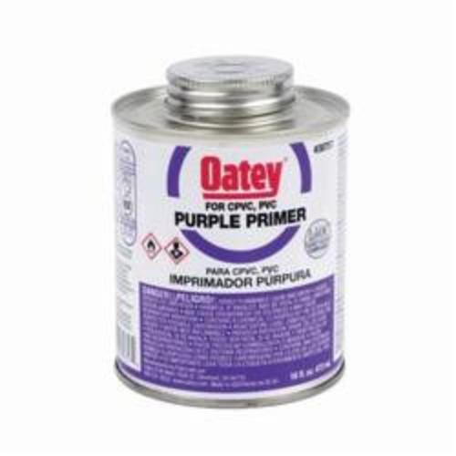 Oatey® 30757 Primer, For Use With PVC and CPVC Pipe and Fittings, Purple, 16 oz Container